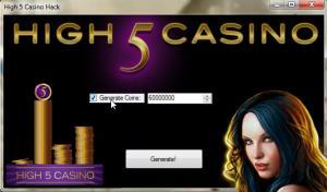 Free Coins High 5 Casino